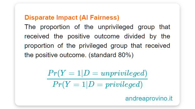 disparate-imapct-data-science-machine-leaning-trusting-ai-fairness-guida-italiano-equità-intelligenza-artificiale
